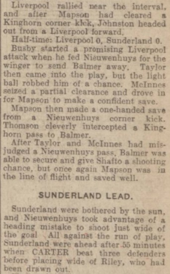 1939 LFC v Sunderland Evening Express 4