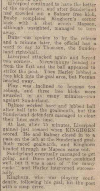 1939 LFC v Sunderland Evening Express 5