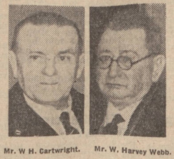 1941 Cartwrigt and Webb
