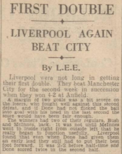 1941 LFC v Man City Daily Post 1