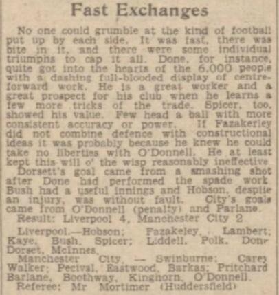 1941 LFC v Man City Daily Post 2