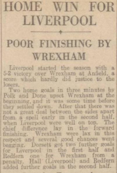 1941 LFC v Wrexham Daily Post 1