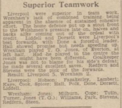 1941 LFC v Wrexham Daily Post 2