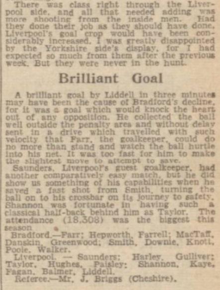 1945 Bradford Park v LFC 2