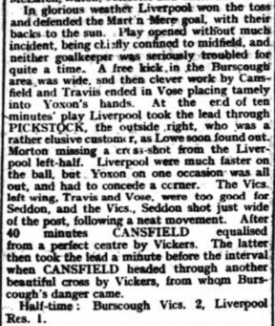 1940 Burscough Vics v LFC A 2
