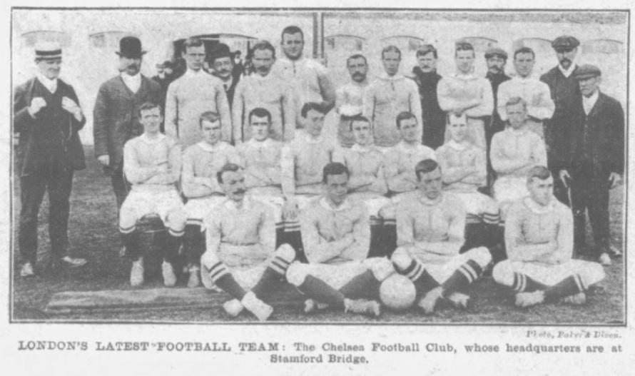 1905 Chelsea squad picture