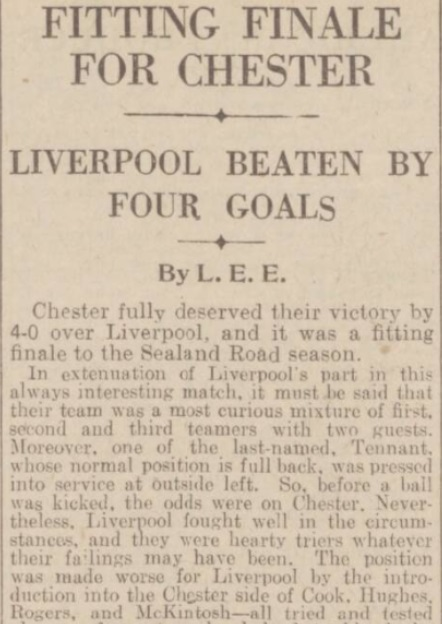 1940 Chester v LFC May 1