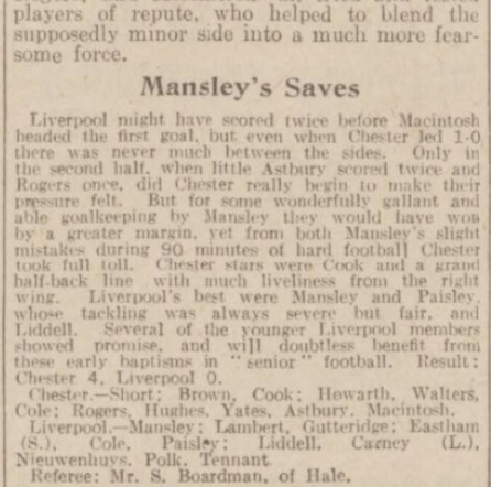 1940 Chester v LFC May 2