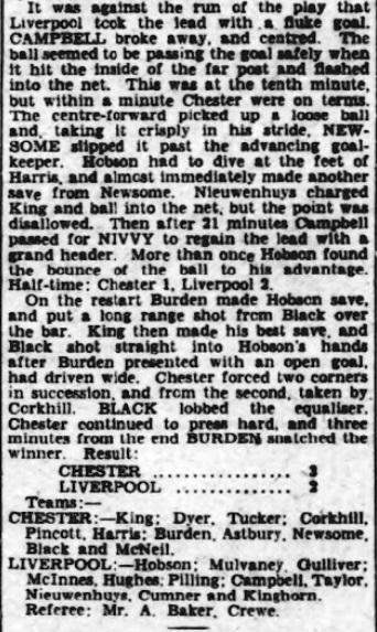 1944 Chester v LFC December Observer 3