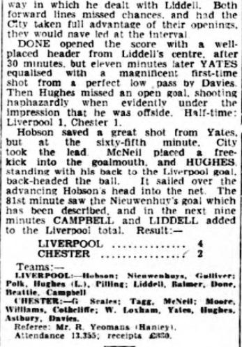 1944 LFC v Chester February 1944 Observer 3