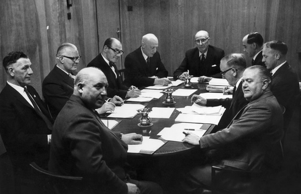 1961 Board of directors