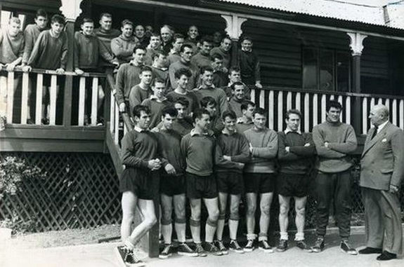 1961 LFC at Melwood