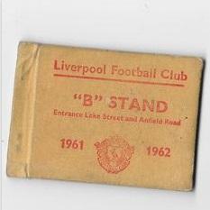1961 Season ticket