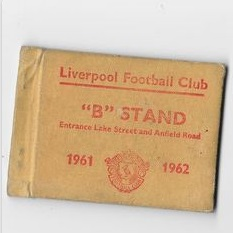 1961 Season ticket
