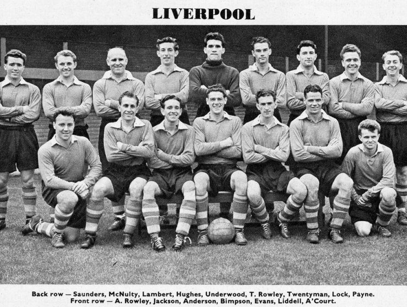 LFC Squad pic 1954 1955