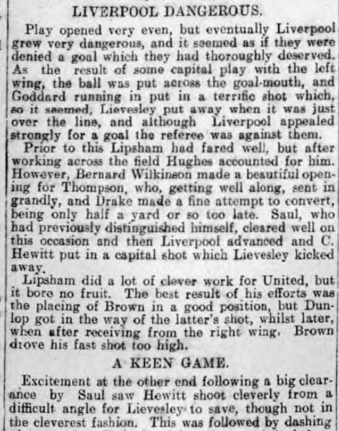 1907 Sheffield United v Liverpool 2