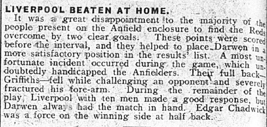 1908 LFC Res v Darwen April