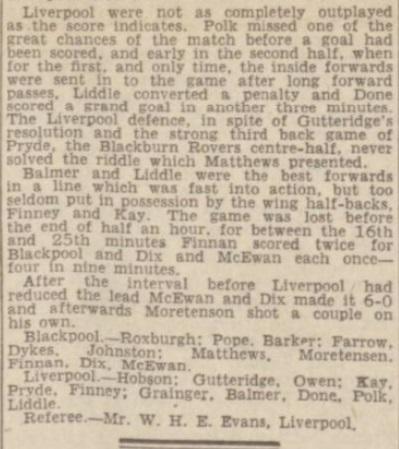 1942 Blackpool v LFC May 2