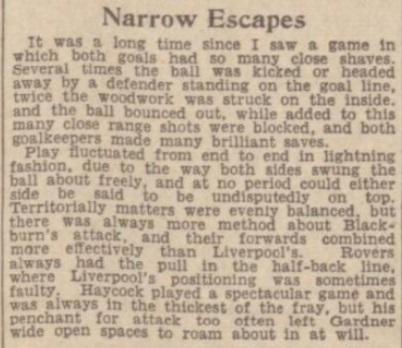 1942 LFC v BRFC Lancashire Cup 2