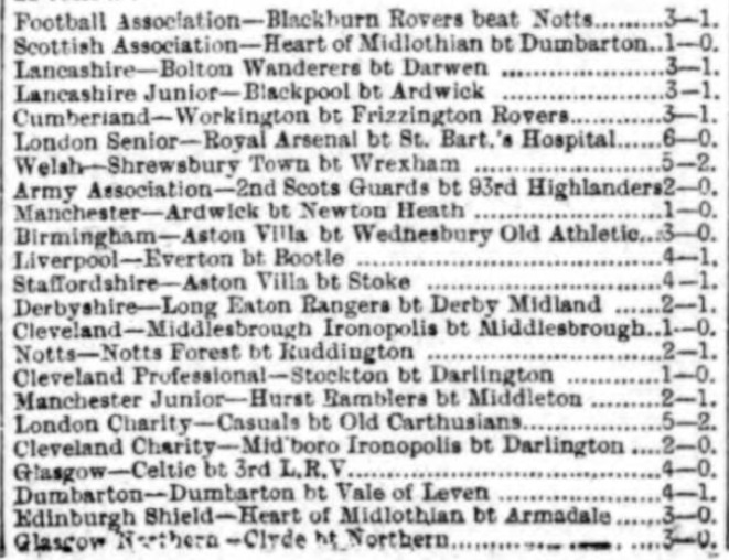 1891 Review of the season 3