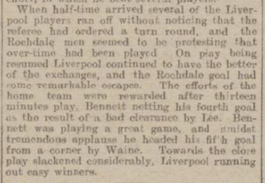 1917 Liverpool v Rochdale Rochdale Observer 2