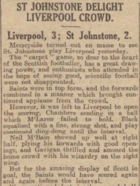 1928 Liverpool v St Johnstone 1