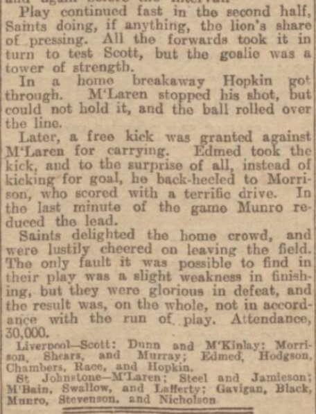 1928 Liverpool v St Johnstone 2
