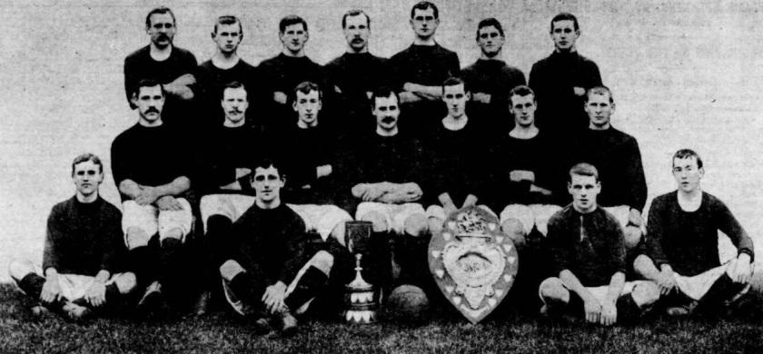1906 Bristol City team picture