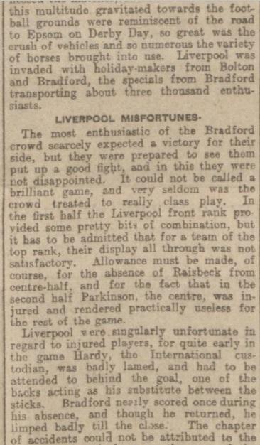 1907 Liverpool v Bradford City report 2