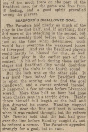 1907 Liverpool v Bradford City report 3