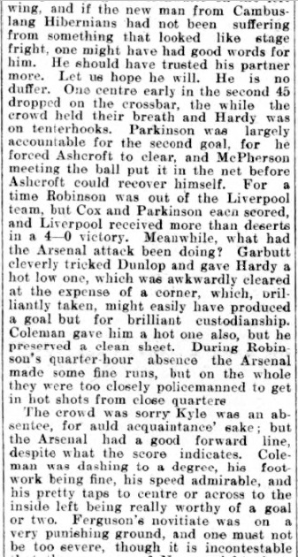 1907 Liverpool v Woolwich report 3