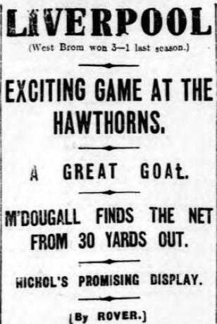 1914 WBA v Liverpool Daily Post 1