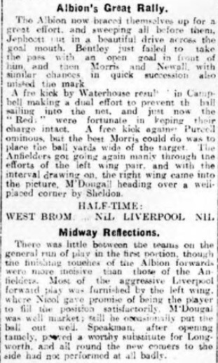 1914 WBA v Liverpool Daily Post 4