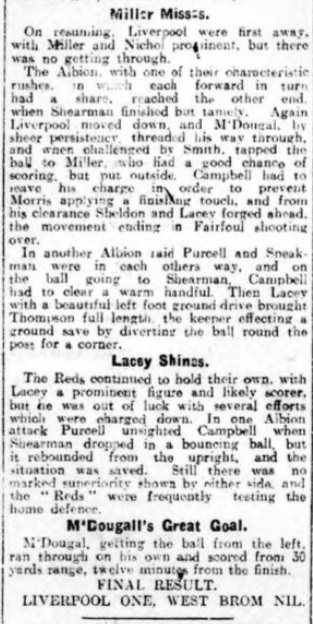 1914 WBA v Liverpool Daily Post 5