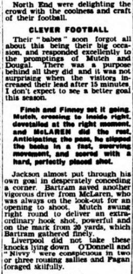 1940 Liverpool v Preston North End Lancashire Evening Post 3