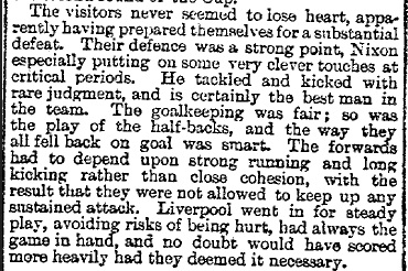 1895 Liverpool v Barnsley St Peters FA Cup 3