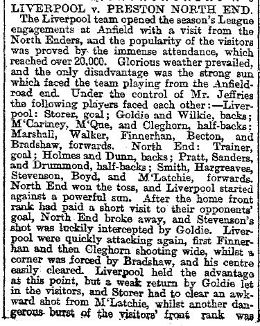 1897 Liverpool v Preston North End Mercury 1