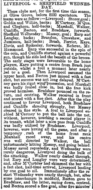 1897 Sheff Wed v Liverpool Mercury 1