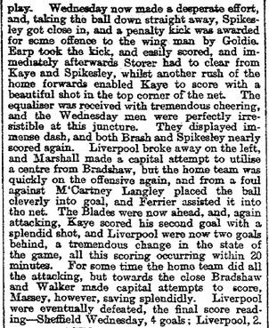 1897 Sheff Wed v Liverpool Mercury 2
