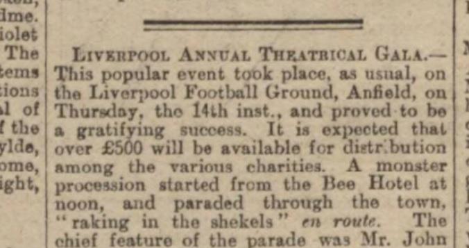 Theatrical Gala 1901