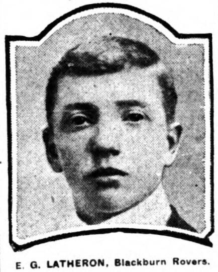 1907-eddie-latheron-blackburn-rovers