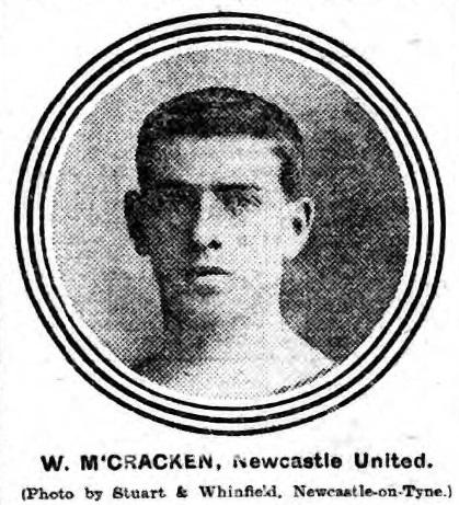1910-billy-mccracken-newcastle-united