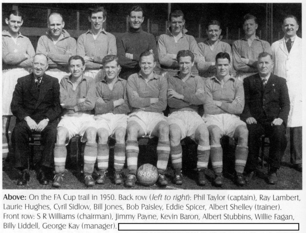 LFC squad pic 1949 1950