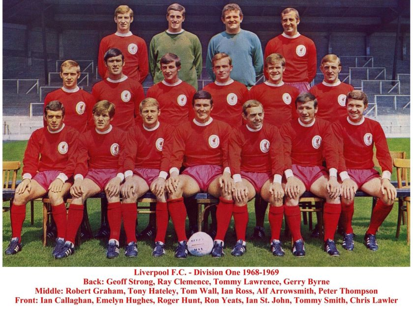 LFC Squad pic 1968 1969