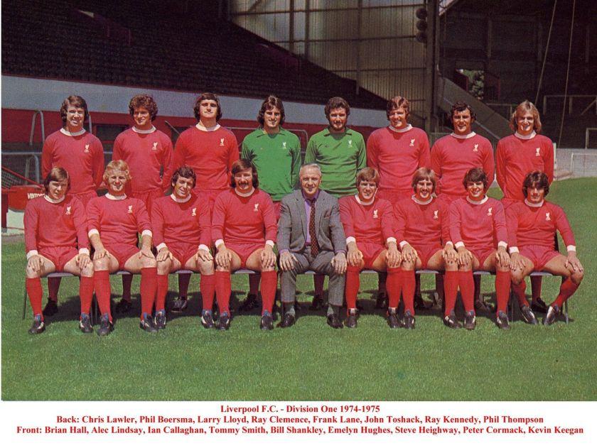 LFC squad pic 1974 1975