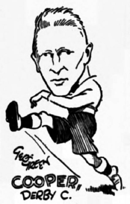 Sketch Tommy Cooper Derby County Football Club Play Up Liverpool